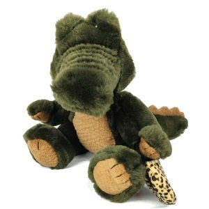 Rare Retired Boyds Collection Alligator Plush